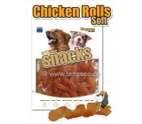 Magnum Chicken spirals soft natural meat delicacy for dogs 25 g