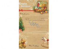 Ditipo Letter to Santa's teddy bear 195 x 290 mm