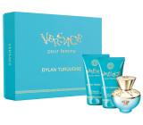 Versace Dylan Turquoise Eau de Toilette for Women 50 ml + body gel 50 ml + shower gel 50 ml, gift set