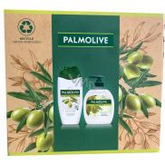 Palmolive Naturals Olive & Milk shower cream 250 ml + liquid soap 300 ml, cosmetic set