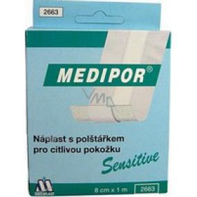 Medipor Sensitive patch with cushion 8 cm x 1 m quick bandage
