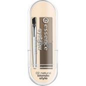 Essence Eyebrow Stylist sada pro úpravu obočí 02 Natural Blonde Style 2 g, kosmetická sada