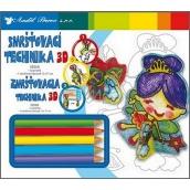 Shrink Technology 3D 02 Princess 18 x 15,5 cm