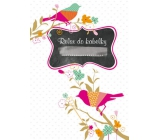Ditipo Relax in handbag Bird notebook 15 x 10.5 cm