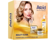 Astrid Beauty Elixir Anti-Wrinkle Day Cream 50 ml + Cleansing Facial Oil 145 ml, cosmetic set
