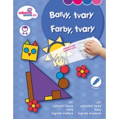 Ditipo Wiping book Colors, shapes 4-6 years 16 pages 215 x 275 mm