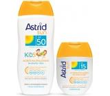 Astrid Sun Kids milk opal.OF50 200ml + milk OF15 80 ml 4448