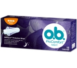 ob Pro Comfort Night Super tampons 16 pieces