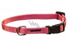 B&F Collar Neon strap pink 1,5 x 30 - 50 cm