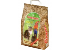 Granum Jonáš Bedding natural litter made of wood for cats and other pets 10 l, 5.5 kg