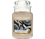 YANKEE CANDLE Scented Glass 625g Seaside Woods 3621