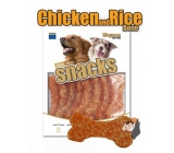 Magnum Chicken and rice bone soft, natural meat delicacy for dogs 250 g