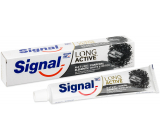 Signal Long Active Naturals Elements Charcoal White & Detox toothpaste with activated carbon 75 ml