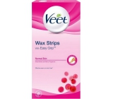 Veet Wax bands for normal skin 12 pieces + Pefect Finish wipes 2 pieces