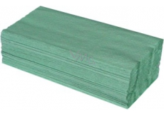 Katrin ZZ Paper towels folded single layer green, 250 pieces