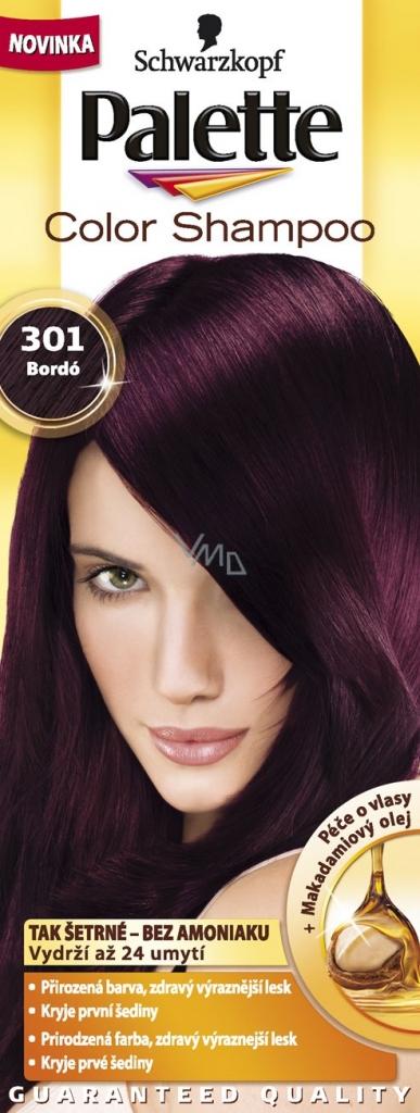 burgundy barva na vlasy