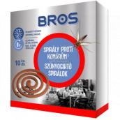Bros Spiral against mosquitoes 10 pieces