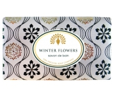 English Soap Winter flowers natural perfumed soap with shea butter 200 g