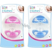 First Steps Bpa Free Ortodontic silicone soother in heart shape 2 pieces
