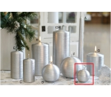 Lima Alfa candle silver ball 60 mm 1 piece
