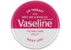 Vaseline Lip Therapy Rosy Lips petrolejová mast na rty 20 g