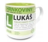 Nekupto Hrnkoviny Mug with the name Lukáš 0.4 liters