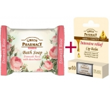 Green Pharmacy 3-pack 5 oils (2x Balsam + DAMASK soap) - intensive relief 8989
