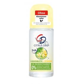 CD Citrus and Lime antiperspirant roll-on for women 50 ml