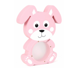 Albi Treasure chest wooden animal Rabbit pink 22 x 5 x max 22 cm