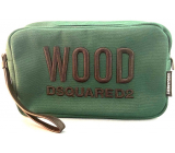 Dsquared2 Green Wood cosmetic bag for men 24 x 15 x 8 cm