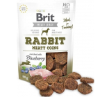 Brit Jerky Dried rabbit and chicken meat treats for adult dogs 80 g
