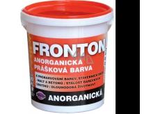 Fronton Anorganická prášková barva Černá pro venkovní a vnitřní použití 800 g