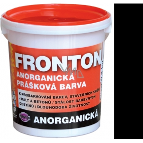 Fronton Inorganic powder paint Black for outdoor and indoor use 800 g