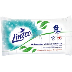 Linteo Universal wet napkins for versatile use of 40 pieces