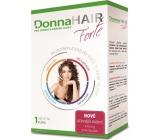 DonnaHair Forte 1 měsíční kúra pro zdravé a krásné vlasy 30 tobolek