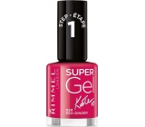 Rimmel London Super Gel by Kate nail polish 024 Red Ginger 12 ml