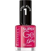 Rimmel London Super Gel by Kate nail polish 024 Red Ginger 12 ml