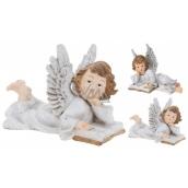 Angel ceramic wings glitter mix 21 x 14 1 piece