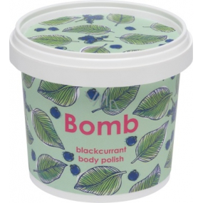 Bomb Cosmetics Blackcurrant Natural shower body peeling 365 ml