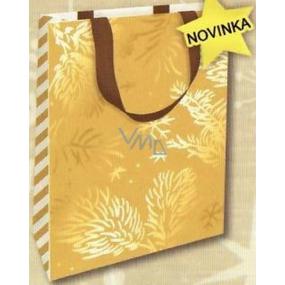 Nekupto Gift paper bag with embossing 18 x 11 x 8 cm Christmas 1737 WLFS