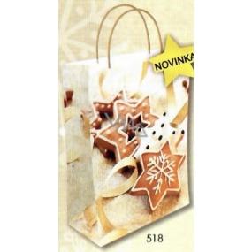 Nekupto Gift kraft bag 29 x 22 x 10 cm Christmas 518 WKL