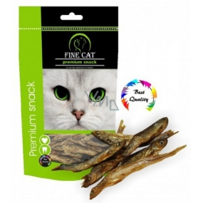 Fine Cat Premium Snack fish dried - tasty natural treats for cats of all races 40 g