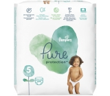 Pampers Pure Protection size 5, from 11+ kg diaper panties 24 pieces