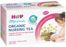 Hipp Mama Bio herbal tea for nursing mothers with fennel, anise and caraway bags 20 x 1.5 g