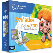 Albi Magic reading Electronic pencil + interactive talking book Animals in the Zoo recommended age 3+