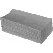 Katrin ZZ Paper towels folded single layer gray, 250 pieces