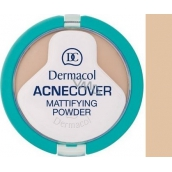 Dermacol Acnecover Powder For Problematic Skin 04 Honey 11 g