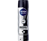 Nivea Men Invisible Black & White antiperspirant deodorant spray 150 ml