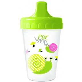 Púr Non Spill non-flowing mug with hard drink +6 months various colors and patterns 200 ml