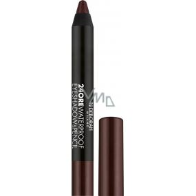 Deborah Milano 24Ore Waterproof Eyeshadow & Pencil eye shadow and eye pencil 2v1 05 Mat Chocolate 2g